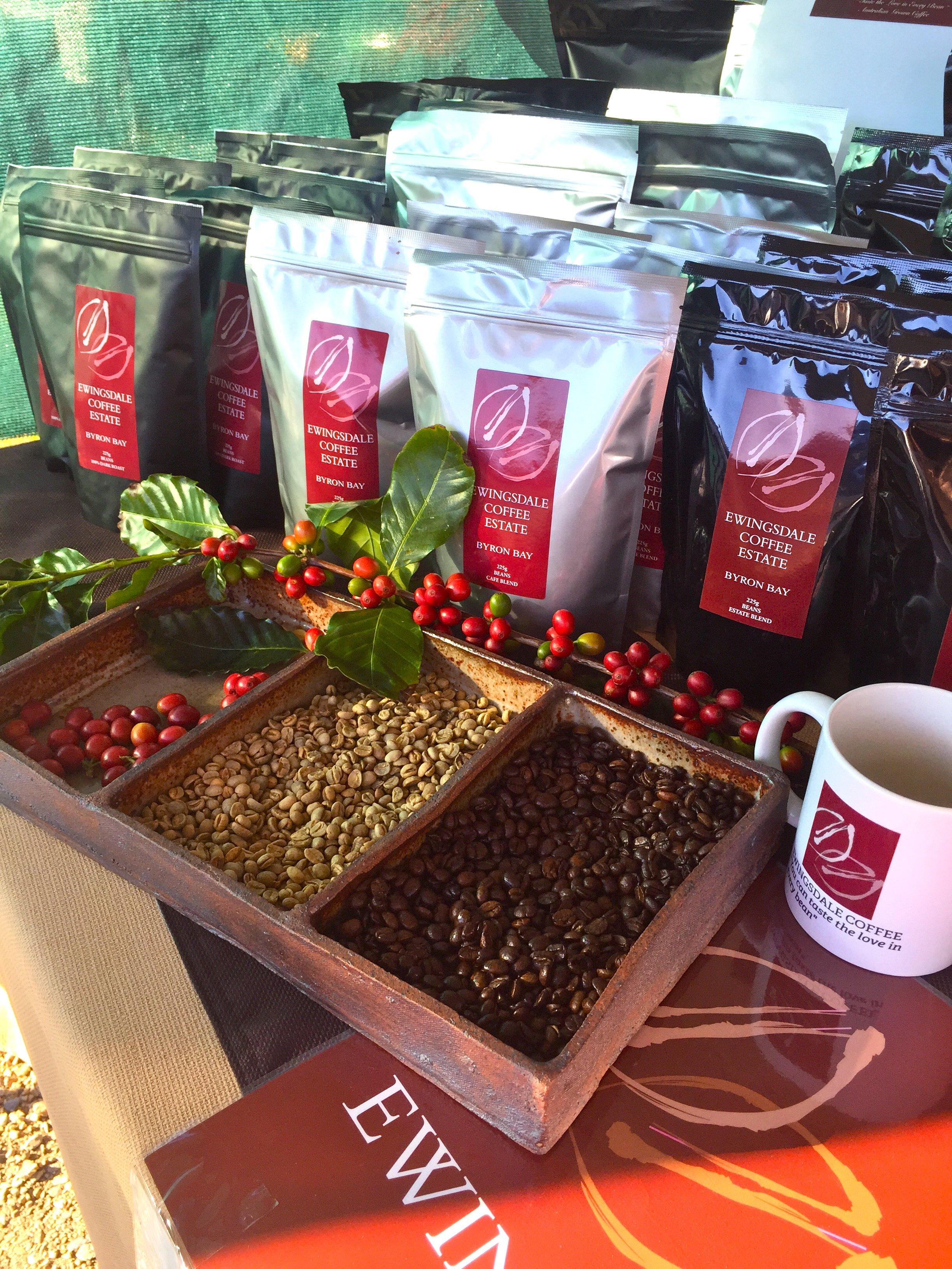 Australian Grown Coffee Ewingsdale Coffee